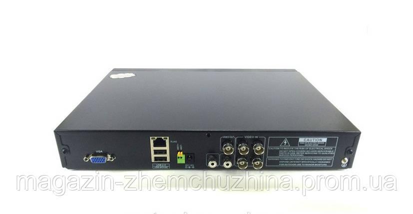 Регистратор DVR 6104V, видеорегистратор 4-х канальный hd dvr, видеорегистратор на 4 камеры, фото 2