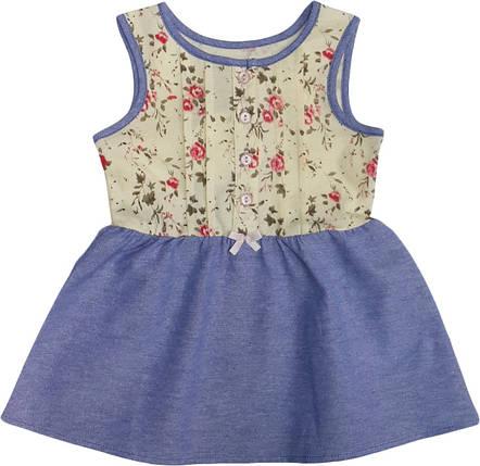 Платье детское летнее  ТМ Бемби ПЛ143 размер  86 , фото 2