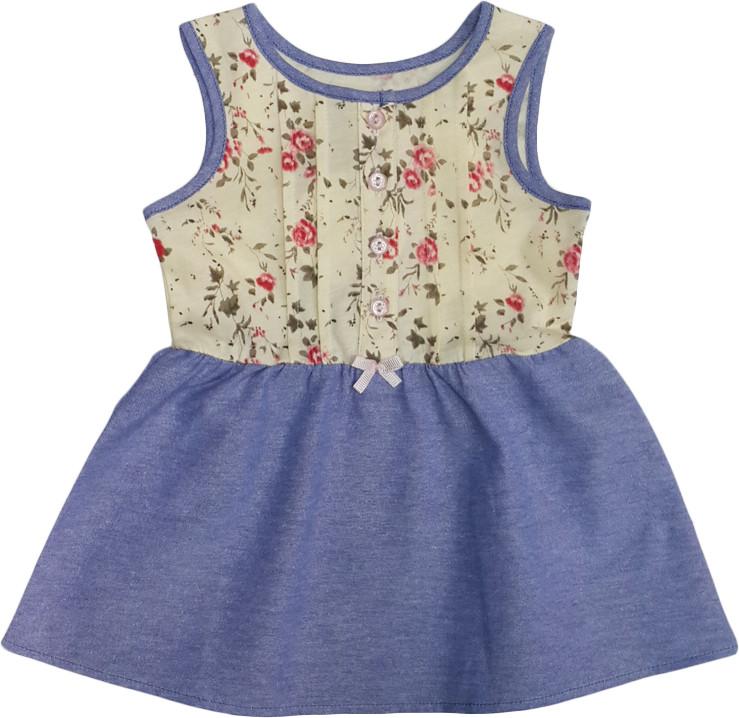 Платье детское летнее  ТМ Бемби ПЛ143 размер  86  - Рожевий Слон - детская одежда от 0 до 15 лет в Киеве