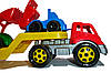 Игрушка Автовоз с набором Стройплощадка ТехноК (3930), фото 10