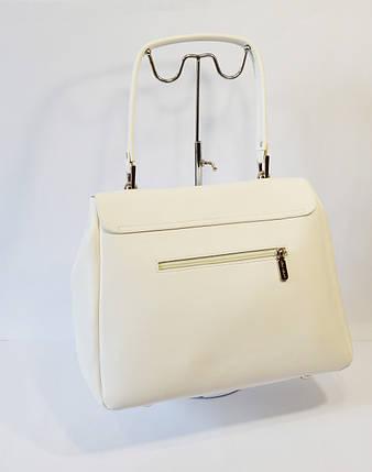Женская белая сумка Alba Soboni, фото 2