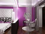 Сиреневая спальня – оригинальное решение для царства сна в доме( интересные статьи)