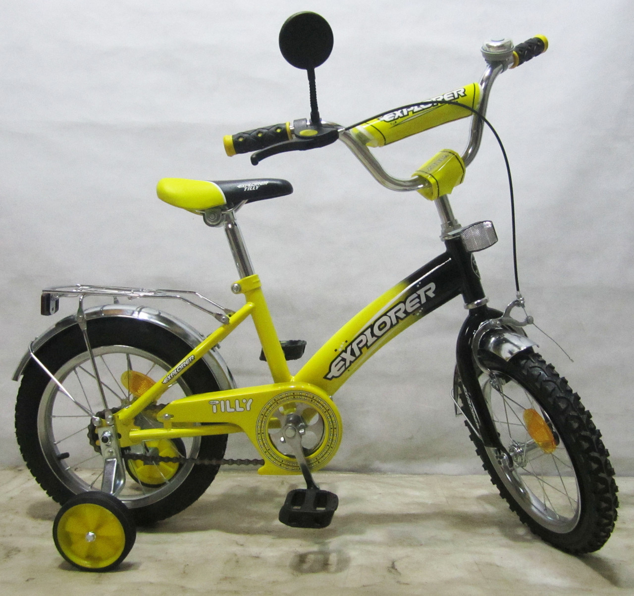 Велосипед Explorer 14'' T-21413 yellow + black