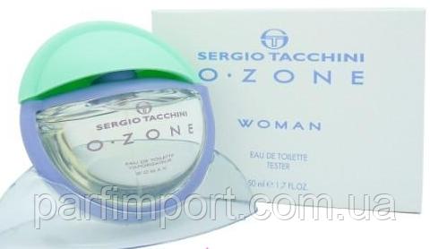 Sergio Tacchini Ozone Woman EDT 50 ml TESTER  туалетная вода женская (оригинал подлинник  Италия)