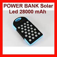 Мобильная Зарядка UKC POWER BANK Solar Led 28000 mAh