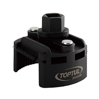 """Съёмник м/фильтра универсальный 60-80мм 1/2"""" или под ключ 22мм JDCA0108 TOPTUL"""