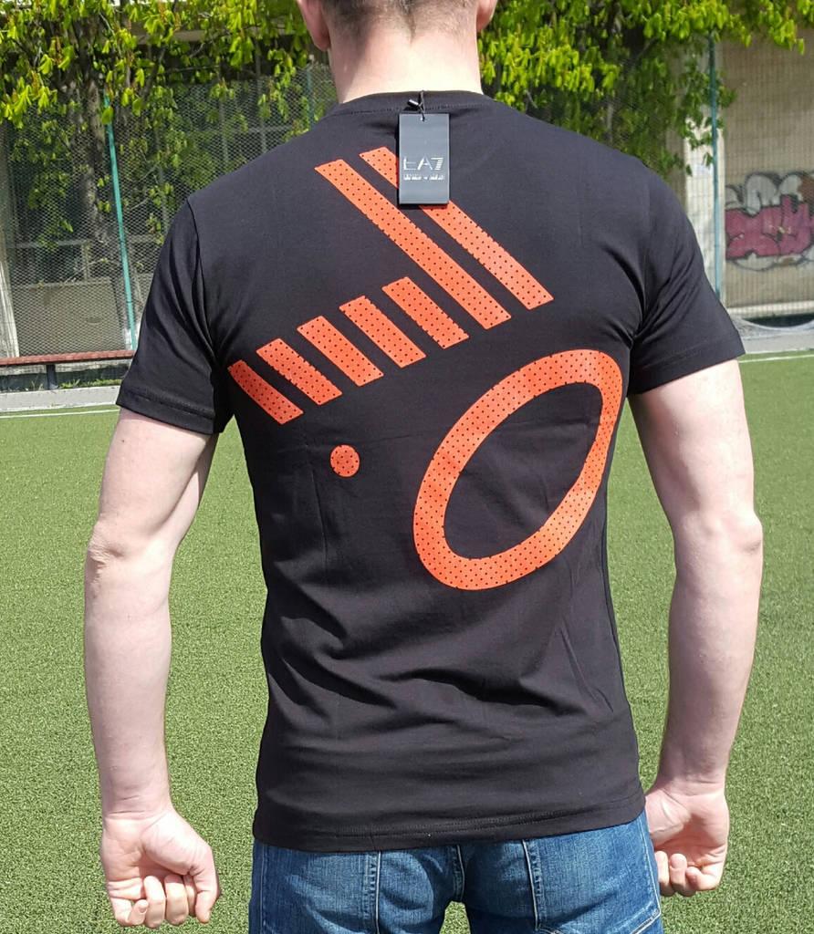 Мужская футболка ARMANI 7.0 черная