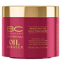 Маска с маслом бразильского ореха Schwarzkopf Professional ВC Oil Miracle Brazilnut Oil Pulp Treatment 150 ml