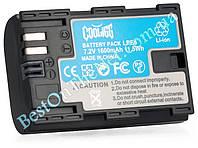 Аналог Canon LP-E6 (Cooligg 1600mAh - 100% совместимость). Аккумулятор для Canon 7D, 60D, 5D Mark II / III