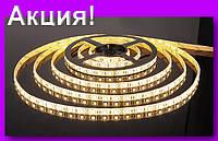LED 3528 White 60R WW Теплый белый,Светодиодная лента!Акция