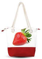 Текстильная сумка Strawberry