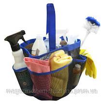 Органайзер для Ванной 8 Pocket Shower Caddy, фото 2