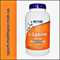 NOW L-Lysine 500 mg  100 caps