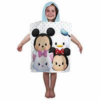 Пляжное полотенце-пончо Disney Минни и Микки Маус, 2-6 лет