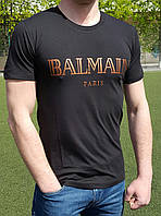 Мужская футболка Balmain черная