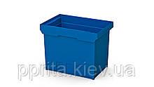 Вкладываемый полимерный контейнер с усиленным дном INSTORE KVR 6442 без комплектации (600х400х420 мм)