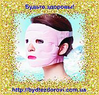Турмалиновая массажная аккупунктурная маска для лица.