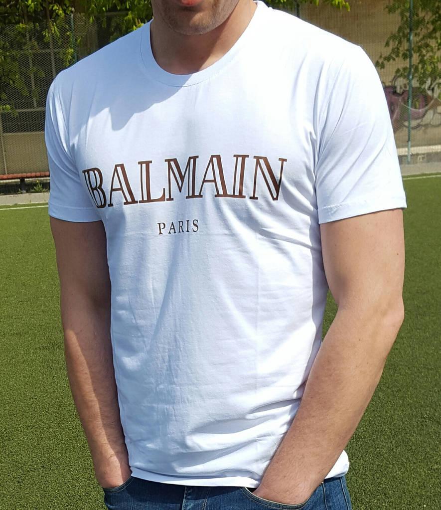 Мужская футболка Balmain белая