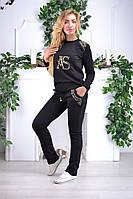 Спортивный костюм Турция в камнях S M L XL XXL  ас8842, фото 1