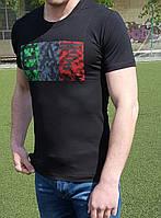 Мужская футболка ARMANI EA7 черная