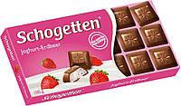 Шоколад Schogetten Yoghurt-Strawberry Клубничный Йогурт 100 г