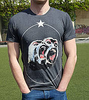 Мужская футболка Givenchy серая