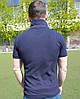 Мужское поло Lacostе синее, фото 4