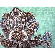 Постельное белье Турецкие мотивы поплин ТМ Царский дом  (Евро), фото 2