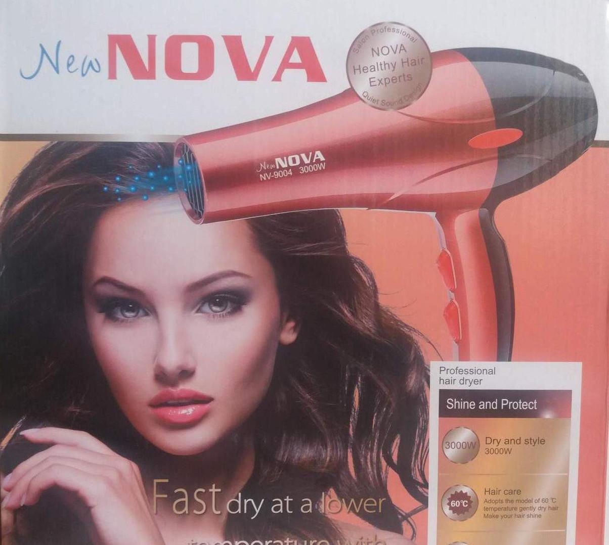 Фен для волос Nova NV-9004 3000W