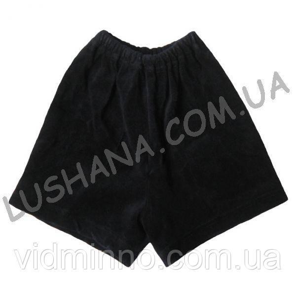 Велюровые шорты на рост 86-92 см - Велюр