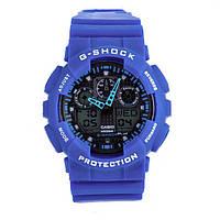 Мужские часы Casio G-Shock GA 100 Blue