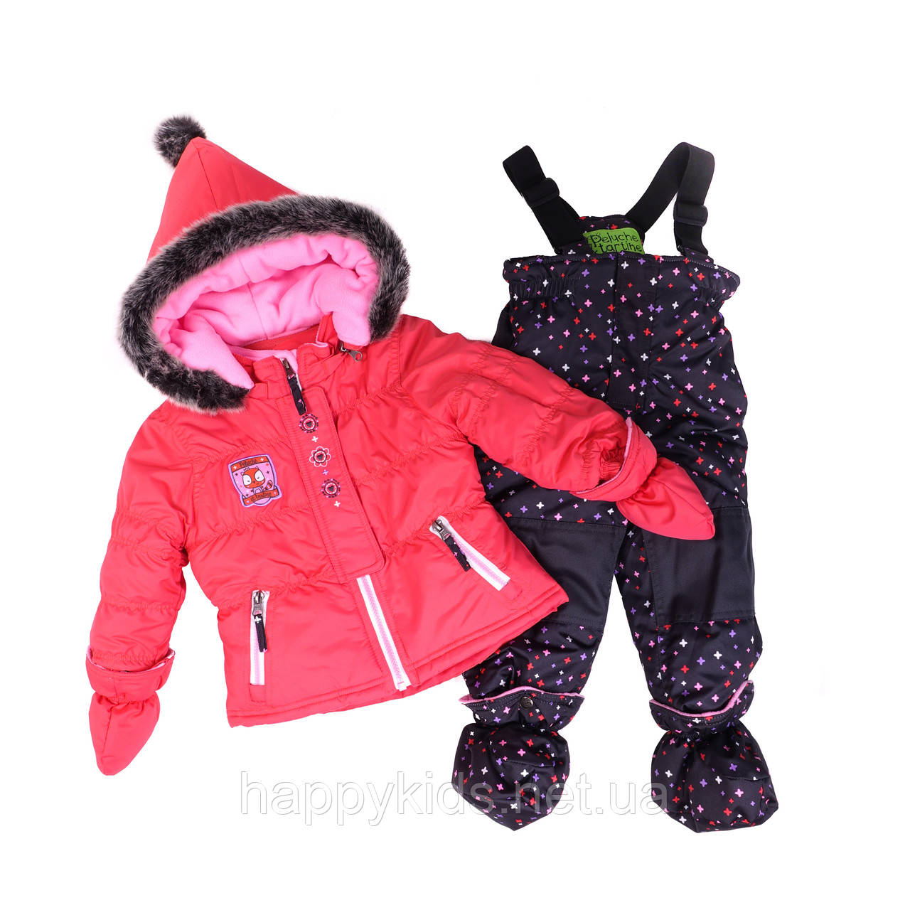 Зимний костюм для девочки PELUCHE 18 BF M F16. Размеры 85 - 97.