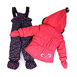 Зимний костюм для девочки PELUCHE 18 BF M F16. Размеры 24 мес и 2.., фото 2