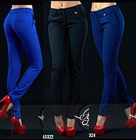 Элегантные брюки со средней посадкой