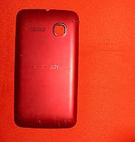 Корпус / задняя крышка для телефона Alcatel 4030D OneTouch красная