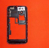 Корпус / средняя часть для телефона Alcatel 4030D OneTouch красная