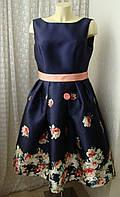 Платье летнее красивое миди Chi Chi р.50 7512
