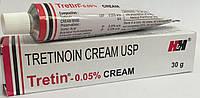 Третиноин крем от прыщей Tretin 0.05%, 30г.