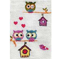 Ковер детский белый Owl