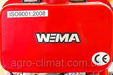 Дизельный мотоблок Weima Wm1100 A (ручной стартер, 6 л.с., колеса 4.00-10) , фото 3