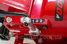 Дизельный мотоблок Weima Wm1100 A (ручной стартер, 6 л.с., колеса 4.00-10) , фото 2