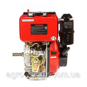 Двигатель дизельный Weima WM186FB (вал под шлицы/шпонку, 9,5 л.с.), фото 2