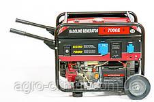 Генератор Weima WM7000E (7 кВт, 1 фаза, бензин, электростартер), фото 3