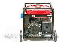 Генератор Weima WM7000E (7 кВт, 1 фаза, бензин, электростартер), фото 2