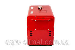 Дизельный генератор Weima WM5000CLЕ-1 (5 кВт, 1  фаза, шумозащита Silent ), фото 2