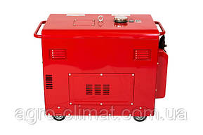Дизельный генератор Weima WM5000CLЕ-1 (5 кВт, 1  фаза, шумозащита Silent ), фото 3