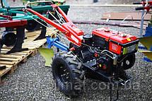 Мотоблок Булат ВТ1010Е (дизель 10,5 л.с.водяное охлажд.+электростартер), фото 2