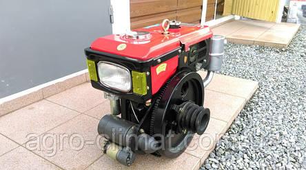 Двигатель дизельный Булат R180NЕ (8 л.с., водяное охлаждение., электростартер), фото 2