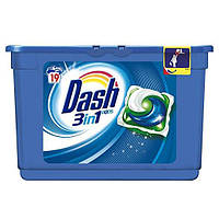 Жидкий стиральный порошок 3 в 1 Dash Ecodosi Actilift в капсулах