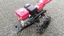 Мотоблок гибрид Булат WM 16 ЕR (бензин c редуктором воздушного охлаждения 16 л.с.,с электро-м) , фото 3